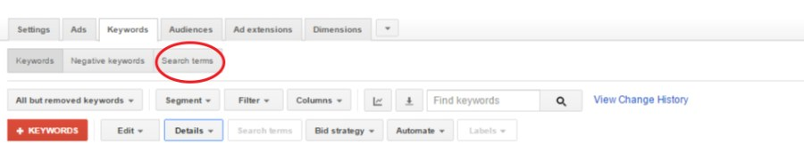 Single-Keyword-Ad-Groups-Step1