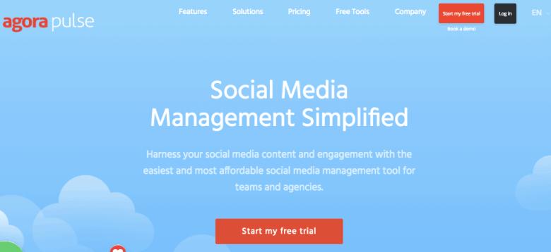 Agorapulse - Strumento di pianificazione dei social media