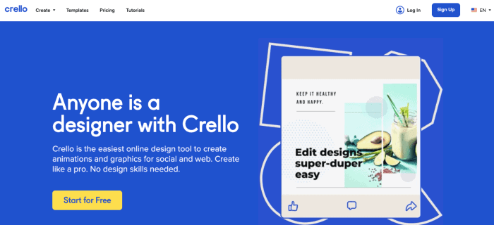 Crello Design Tool