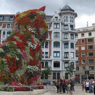 3-d cat flower border