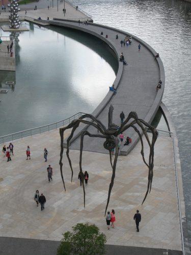 big spider street art