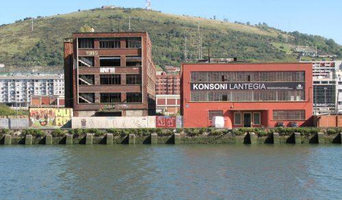 Konsoni Lantegia - riverside factory buildings