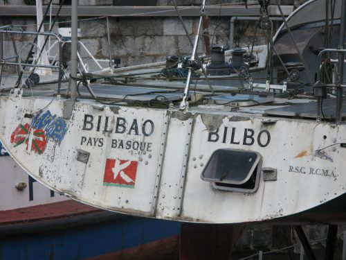 boat back end