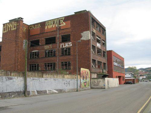derelict brick factory