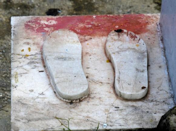 Buddha footprints