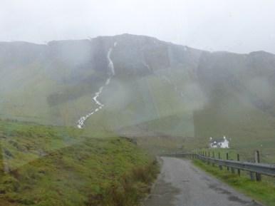 wet hillside