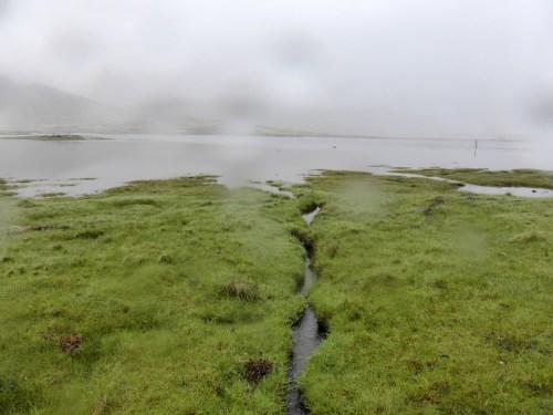 loch across saltmarsh
