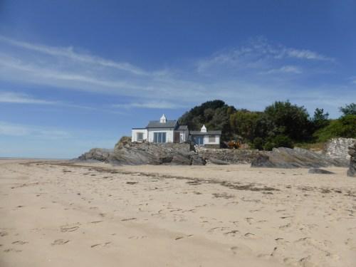 powder house on the beach