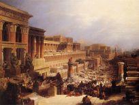 Auszug aus Ägypten - David Roberts WikiCommons
