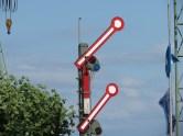 Die Weichen sind gestellt - am Bahnhof in Konstanz