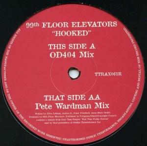 Tripoli Trax Pete Wardman mix of Hooked on 12inch vinyl