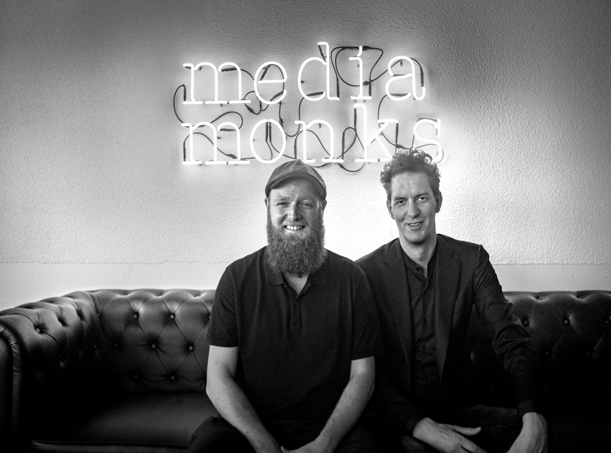 Wesley ter Harr and Victor Knaap, the partners of Media Monks. Image courtesy of Media Monks.