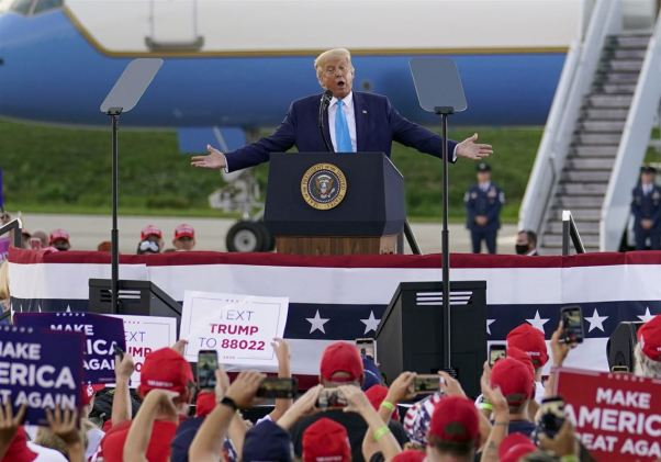 Trump reaffirms message of law and order at Latrobe rally | Pittsburgh  Post-Gazette
