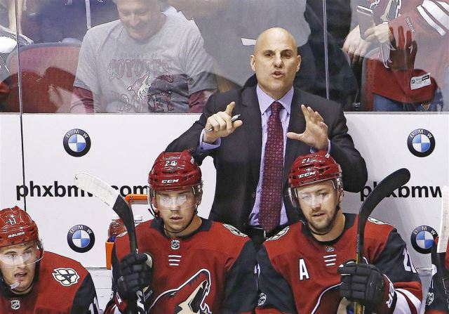 Rick Tocchet's Coyotes are one of the NHL's stingiest teams. Yes,  seriously. | Pittsburgh Post-Gazette