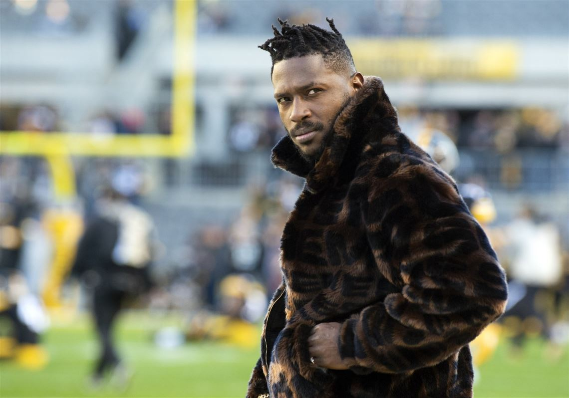 Image result for antonio brown coat