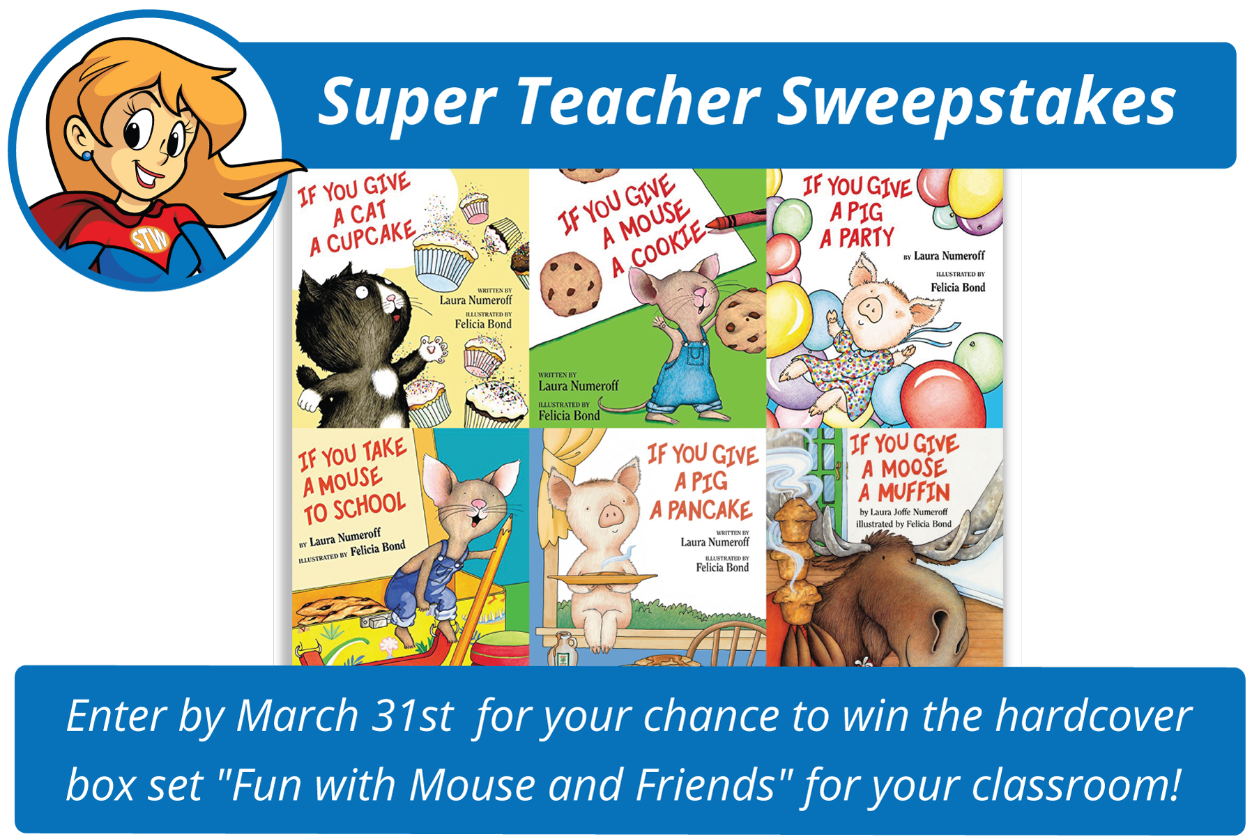 Super Teacher March Sweepstakes