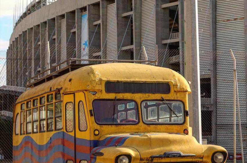 A story behind the yellow bus