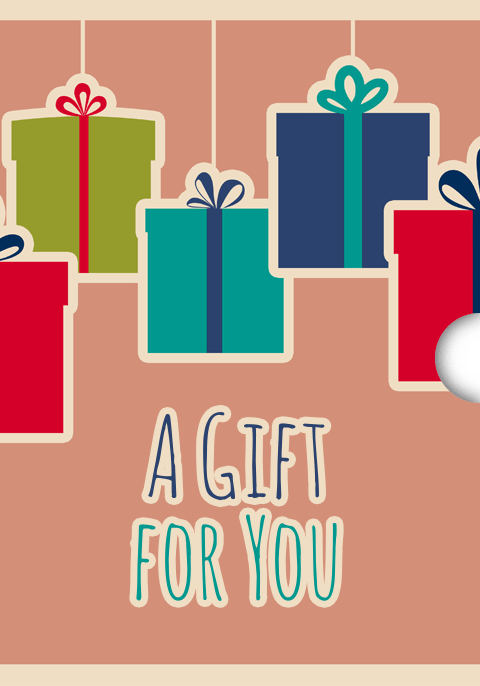 any occassion Shopify Gift Card App Design