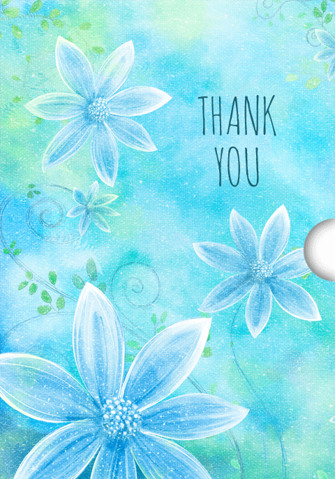 Digital thank you Gift Card Design for Shopify