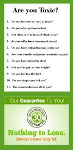 Are you Toxic? Join the 9 day detox | Are You Toxic? 1