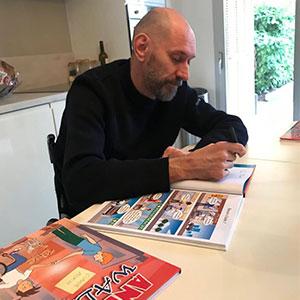 Georges-Emmanuel Mouriez auteur de BD Andy et Walid