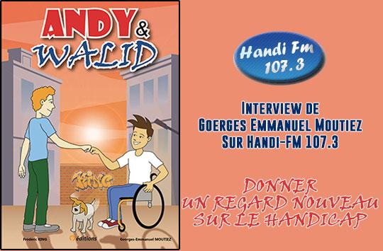 Interview de Georges Emmanuel Moutiez sur Handi-FM 107.3