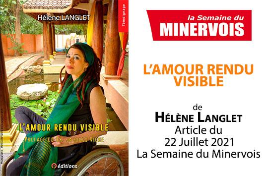 9 EDITIONS PORTRAIT HELENE LANGLET LA SEMAINE DU MINERVOIS