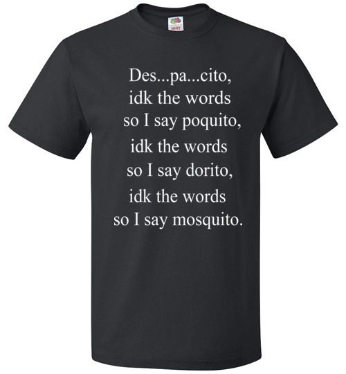 Black And Puerto Rican Words