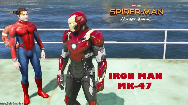 Iron Man Mark 47 Spider Man Homecoming 5