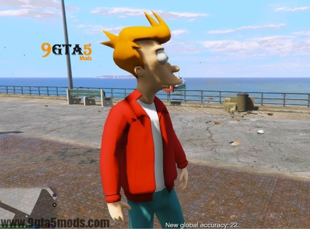 Philip J. Fry (Futurama) – Player Mods For GTA5