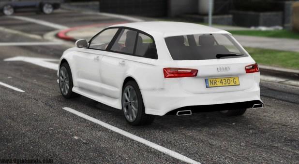 Audi A6 Avant 2018 Gta V 9gta5mods Com