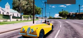 1954 Jaguar XK120 Roadster V1.0 – gtaV car