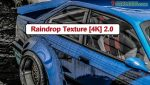 Raindrop Texture 4k mod for GTA V - Paint Jobs