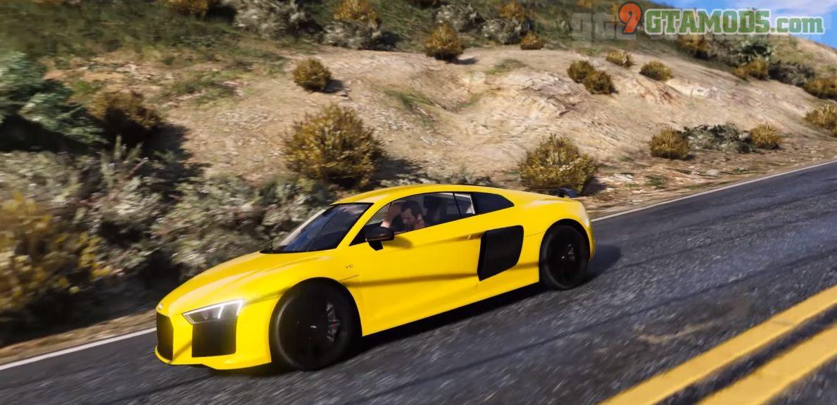 Audi R8 V10 Plus Mod - 6
