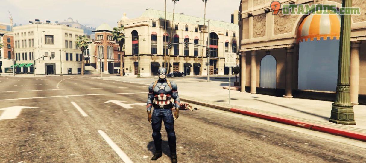 Captain America End Game V1.1 - 1