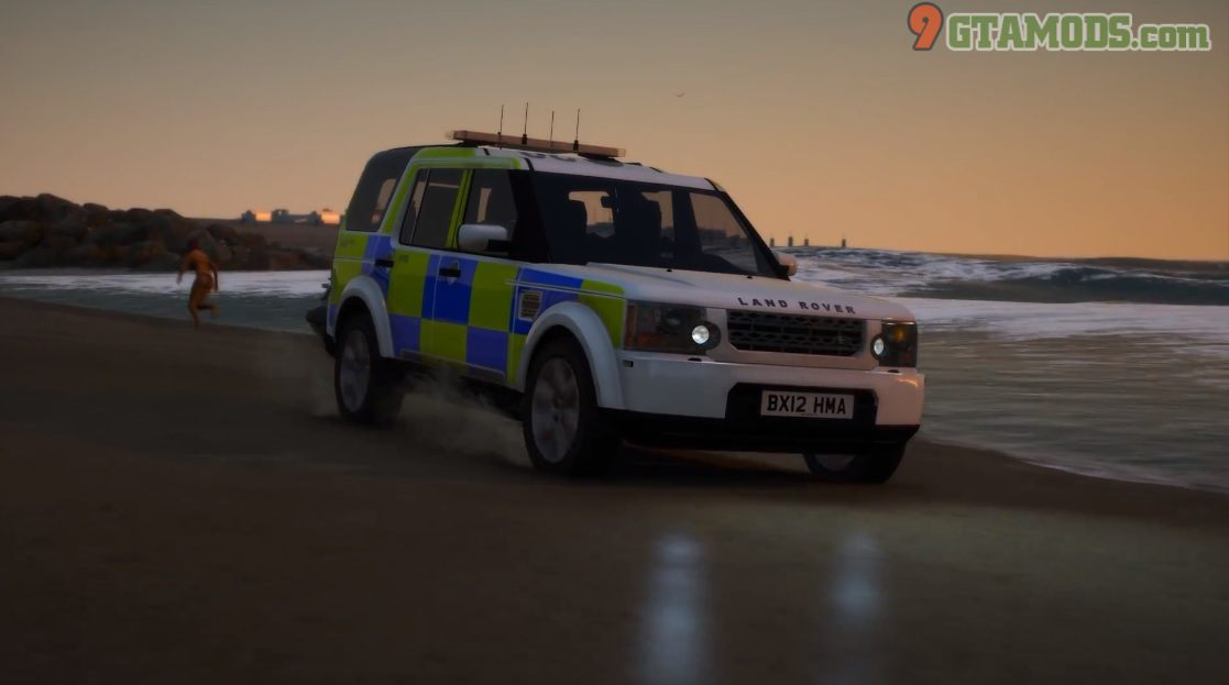 Land Rover Discovery 4 [West Midlands Police] V1.0 - 4