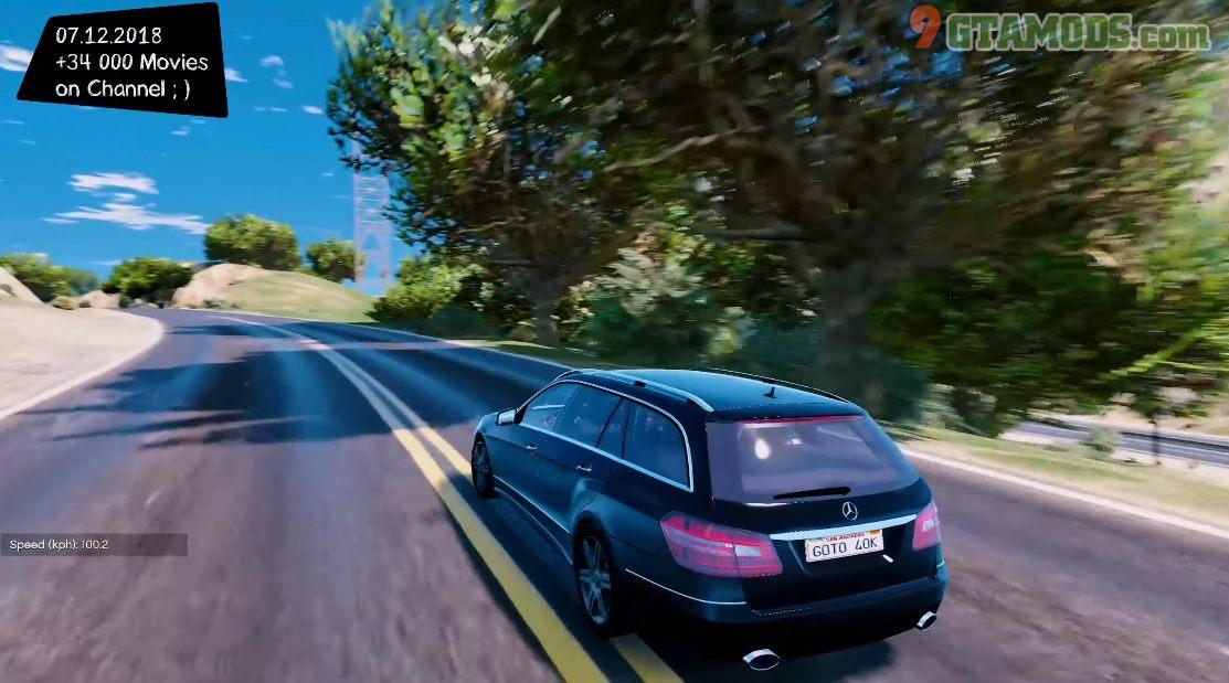 Mercedes-Benz E300 estate V1.0 - 6