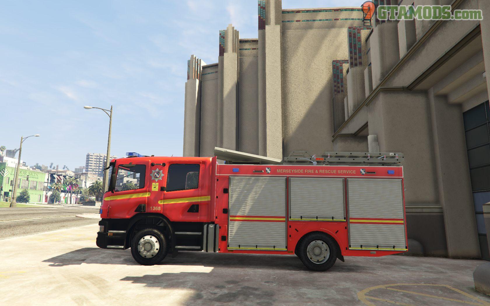 Merseyside Fire & Rescue Service skins V1.0 - 10