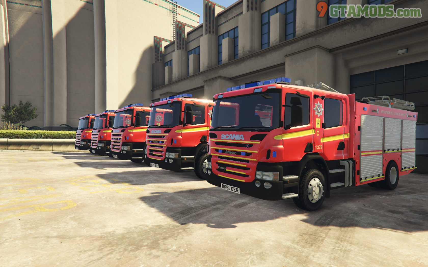 Merseyside Fire & Rescue Service skins V1.0 - 2