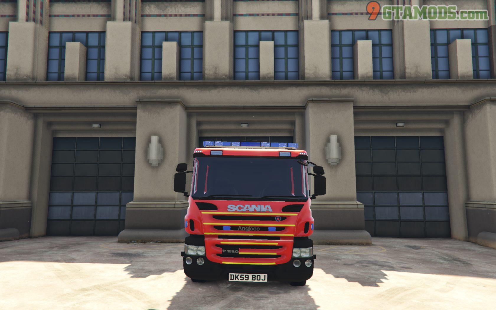Merseyside Fire & Rescue Service skins V1.0 - 4