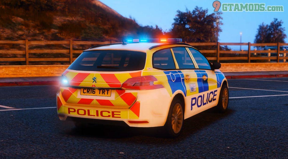 Police Peugeot 308 SW V1.0 - 3