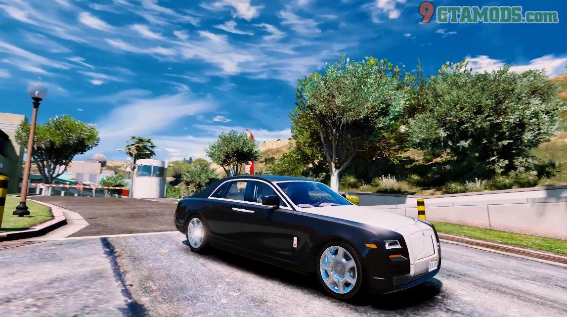 Rolls Royce Ghost 2013 - 1