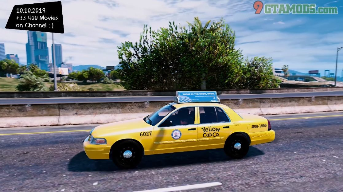 2011 Ford Crown Victoria Los Angeles Taxi V1.1.7 - 1