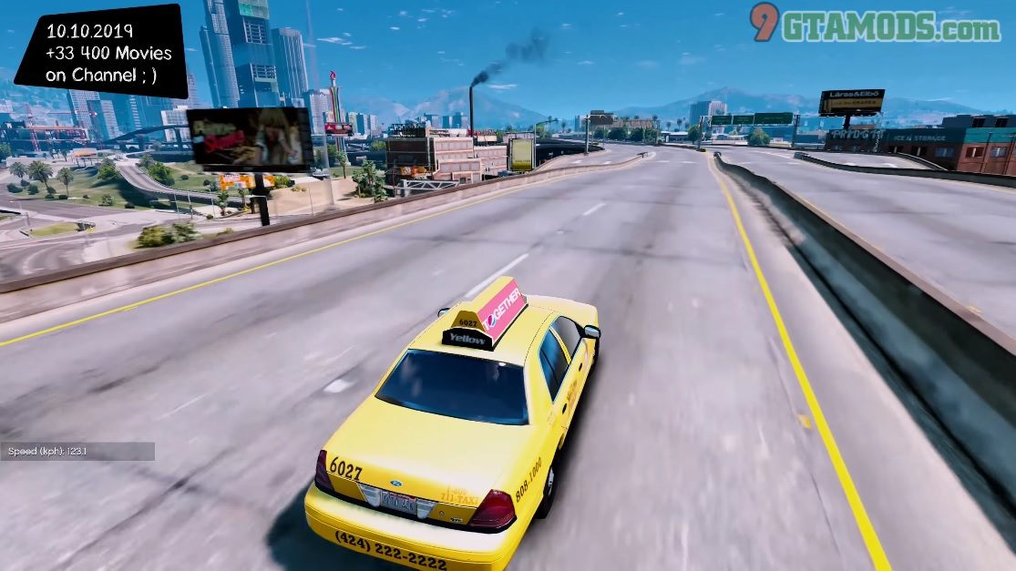 2011 Ford Crown Victoria Los Angeles Taxi V1.1.7 - 5