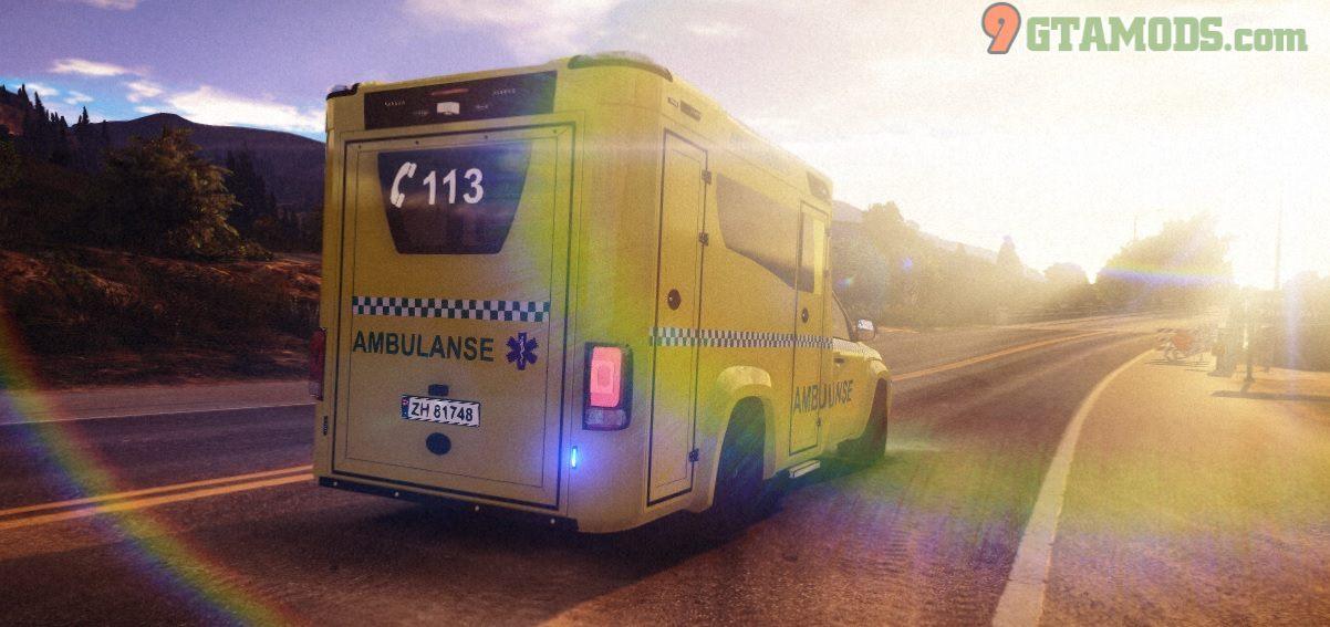 2017 Volkswagen Amarok Tamlans Ambulance V1 - 1