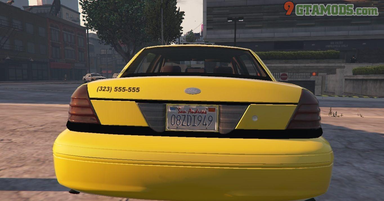 Los Santos Ford Crown Victoria Taxi Texture - 3