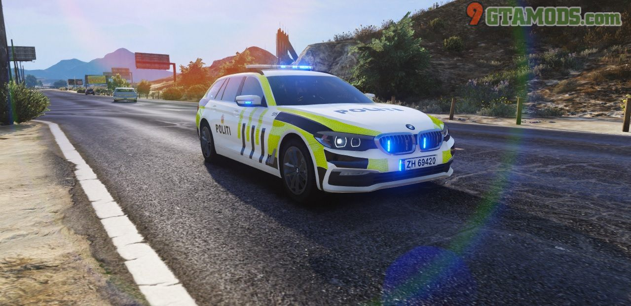 Norwegian 2017 BMW G31 Police V1 - 1