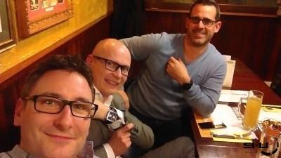 Sergio, Marc et moi