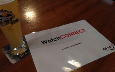 WatchCONNECT le 3 avril 2017 à Neuchâtel.