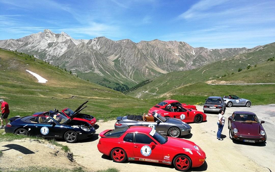 Ronde des Alpes 2017, les 15, 16, 17 et 18 juin. Organisation FRF.